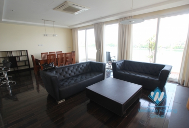 High quality 3 bedrooms apartment for rent in Xuan Dieu, Tay Ho, Hanoi