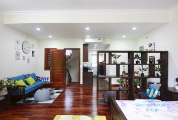 Morden and Bright Studio for rent in Ton That Thiep st, Ba Dinh district.