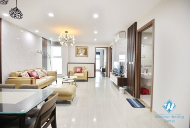 A flashy and modern 3 bedroom apartment for rent in Ciputra Complex