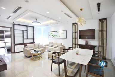 A delightful 3 bedroom 2 bathroom apartment for rent in Ciputra, Hanoi