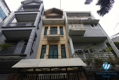 A delightful house with 4 bedrooms for rent in Ba Dinh District