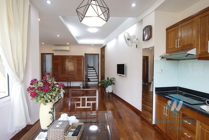 Seviced apartment for rent in Hang Bun,Ba Dinh, Hanoi.