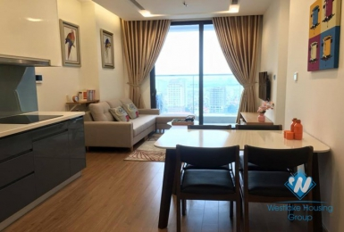 A modern style 1 bedroom apartment for rent in Vinhome Metropolis