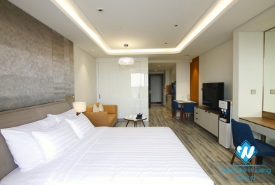 Luxurious city view studio for rent in Ba Dinh