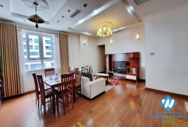 Two-bedroom apartment for rent, near Vincom Ba Trieu