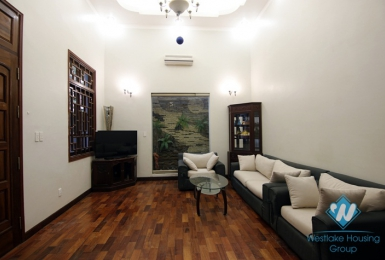 A nice 5 bedroom house with lot of space for rent in Tay ho, Ha noi