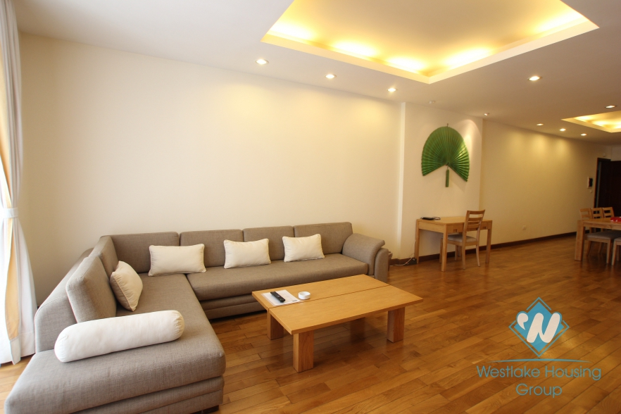 High quality 03 bedroom apartment available for rent in Hai Ba Trung district, Hanoi.