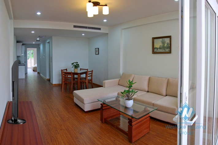 Nice one bedroom apartment for rent in Hai Ba Trung district, Hanoi
