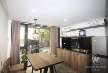 Duplex apartment in Tay Ho is available for rent
