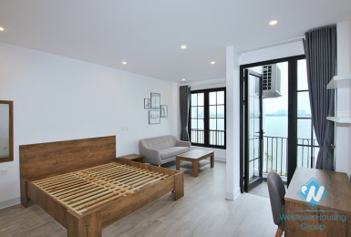 Brand new 1 bedroom apartment with lake view in Tay ho, Ha noi