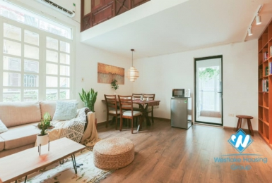 Two bedroom apartment for rent in Cua Nam ward, Hoan Kiem district
