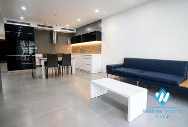 Modern three-bedroom apartment for rent at D'Leroi Soleil, 59 Xuan Dieu, Hanoi
