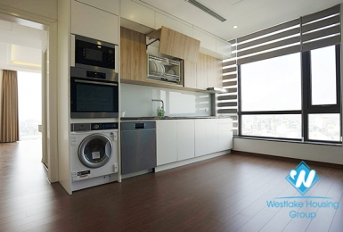 Quality furnished two bedroom apartment for rent in Ngoc Thuy near French international school