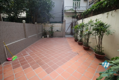 House with large yard and balconies for rent on To Ngoc Van, Tay Ho, Hanoi