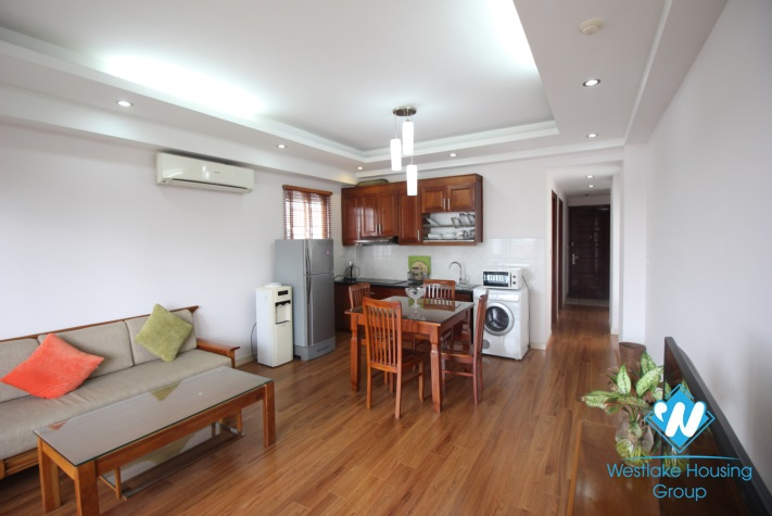 Nice and clean apartment with lake view for rent in Truc Bach lake, Ba Dinh, Hanoi