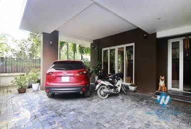 Nice furnished house for rent in Ngoc Thuy street, Long Bien district, Ha Noi