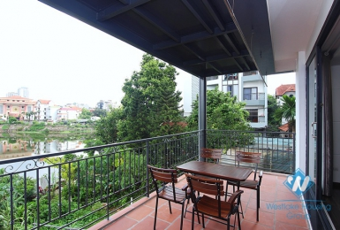 A 4 bedroom apartment with lake view in Tay Ho, Ha Noi
