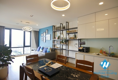 Supper nice apartment with modern furniture's in Mipec Tower, Long Bien District