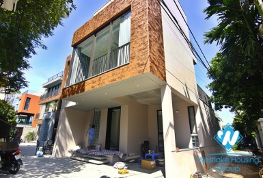 Absolutely good and modern new house for rent in Long Bien district near French international school