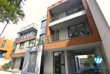 Quality new four bedroom house for rent on Ngoc Thuy street, Long Bien district