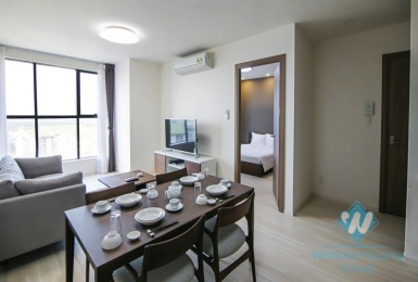 One bedroom serviced apartment for rent in Long Bien district