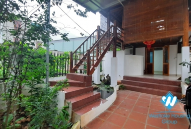House bold cultural ethnic in the mountains of Vietnam for rent in Long Bien District, Hanoi