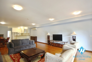 Three bedroom duplex serviced apartment for rent in Hoan Kiem