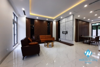 House for rent with modern new interior in Vinhomes Harmony Hanoi