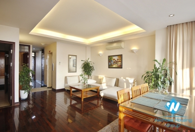 Two bedroom apartment for rent in Hoan Kiem near Hanoi train station.