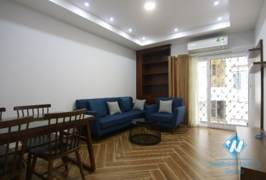 One bedroom apartment for rent in a quiet alley in Hoan Kiem district.