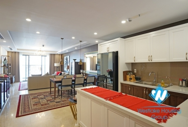 Spectacular serviced 3 bedroom apartment for rent in D'. Le Roi Soleil, Tay Ho, Hanoi