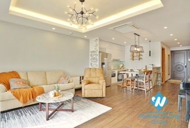 Fully furnished 2-bedroom apartment for rent in D '. Le Roi Soleil, Tay Ho, Hanoi