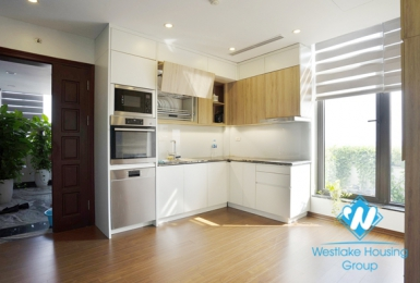 Quality furnished 2 bedroom apartment for rent in Ngoc Thuy near French International School.