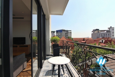 A Spacious High Quality apartment with 03 bedrooms for rent in To Ngoc Van St, Tay Ho, Hanoi.