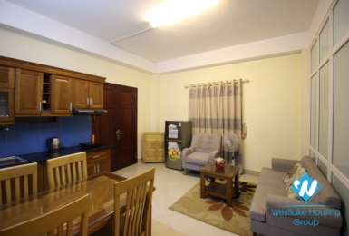 Brightly 1 bedroom apartment for rent in Tay Ho Hanoi