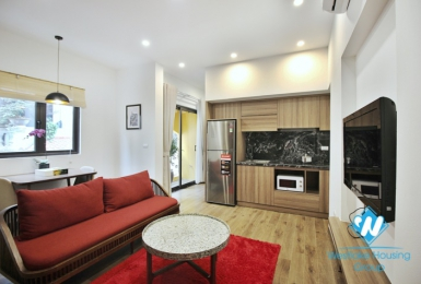 A unique 1 bedroom  duplex apartment with high quality furniture for rent in Tay Ho