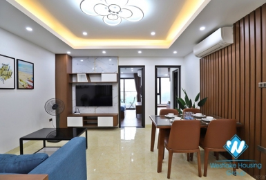 A bright, good space 2 bedroom apartment for rent on Xuan La street
