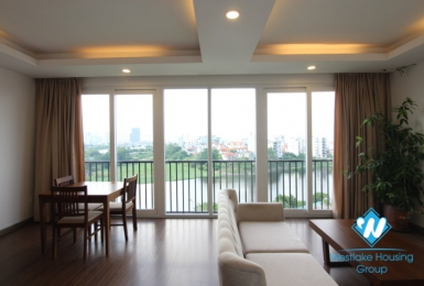 A Lake view, stylish apartment for rent on To Ngoc Van street