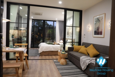 A Nice- Morden 1 bedroom apartment  for rent in Dong Da, Hanoi