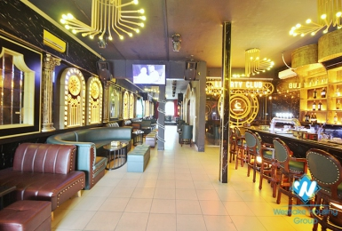 A Stylish Spacious Bar with full furniture for rent in Tay Ho