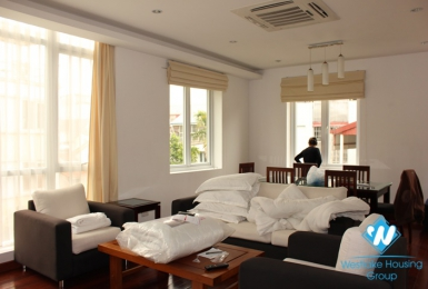 A Spacious two bedrooms apartment for rent on Xuan Dieu street,