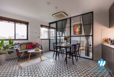 A 2 bedroom sophisticated or funky apartment  for rent in Hoan Kiem