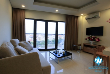 A Lovely Spacious one bedroom apartment with big balcony for rent in Tay Ho