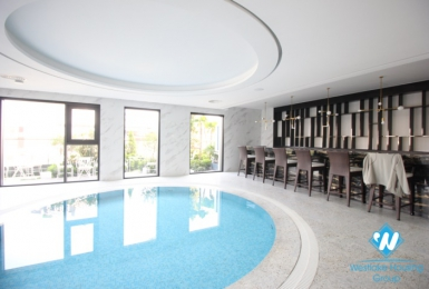 A Luxury High-End 3 bedrooms apartment for rent on Doi Can