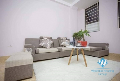A lovely 5 bedrooms house with green balcony for rent in Hoan Kiem district.