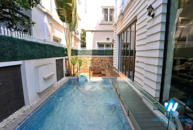 Pool villas for rent at Vinhome Riverside Long Bien Ha Noi