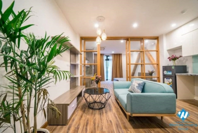 Stylish-looking 1-bedroom apartment on Tran Duy Hung Str.