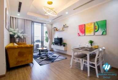 A spacious and modern design two bedroom apartment for rent in Tay Ho
