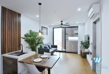 A brand new 1 bedroom apartment for lease in To Ngoc Van, Tay Ho