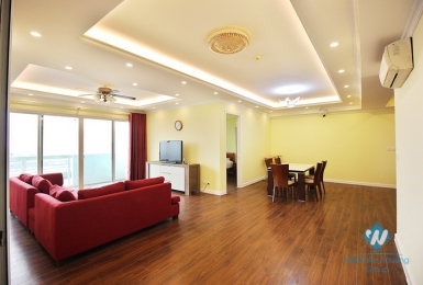 A bright and spacious 3 bedroom apartment for rent in Ciputra E Tower